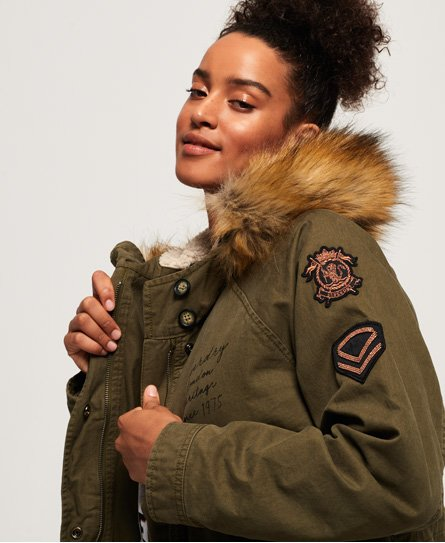 Superdry Rookie Heavy Weather Tiger parka