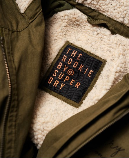 Superdry Rookie Heavy Weather Tiger Parka Jacket