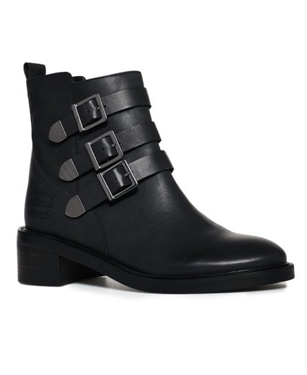 Cheryl Military Boots