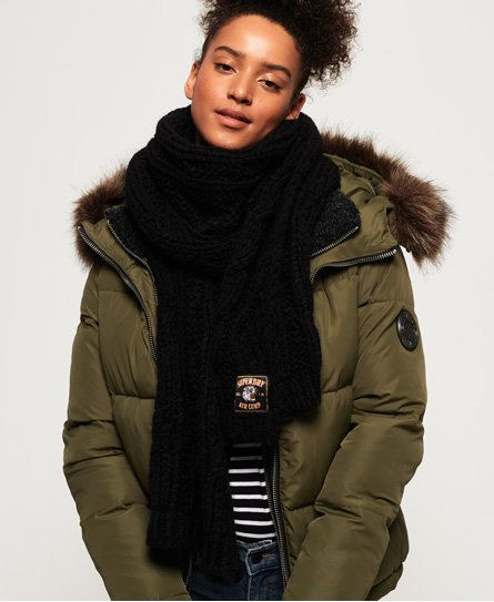 Superdry Chic Regal Cable Scarf