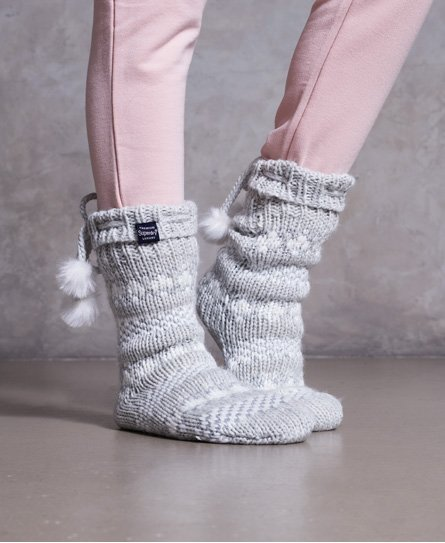 Superdry Chaussons chaussettes Sparkle Fairisle