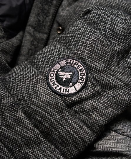 Superdry Parka con capucha de tweed Elements
