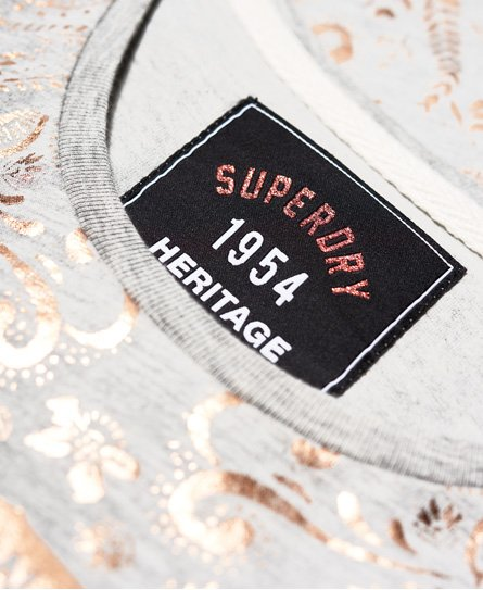 Superdry Gasoline Foil All Over Print T-Shirt