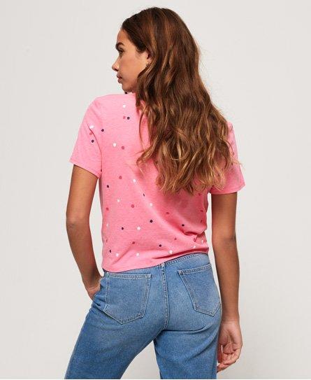 Superdry Real Originals T-Shirt mit Zierknoten vorne