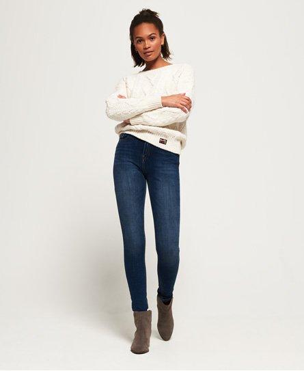 Spijker Joggingbroek Dames.Superdry Nl Jeans Dames Dames Spijkerbroeken Jeans