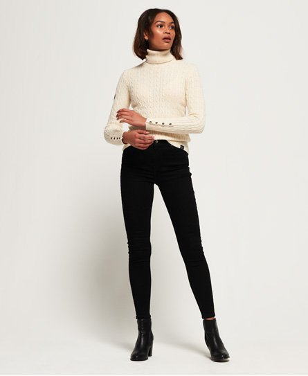 SuperThermo Skinny High Rise jeans