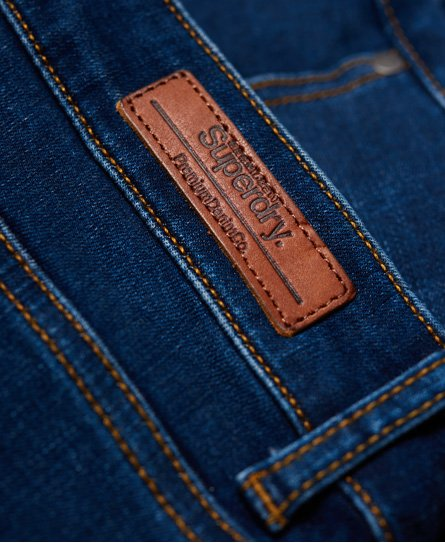 Superdry Jean taille haute skinny Superthermo