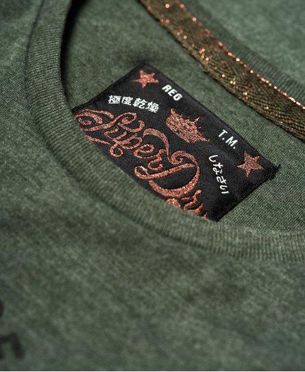 Superdry T-shirt con borchie Frontier Script