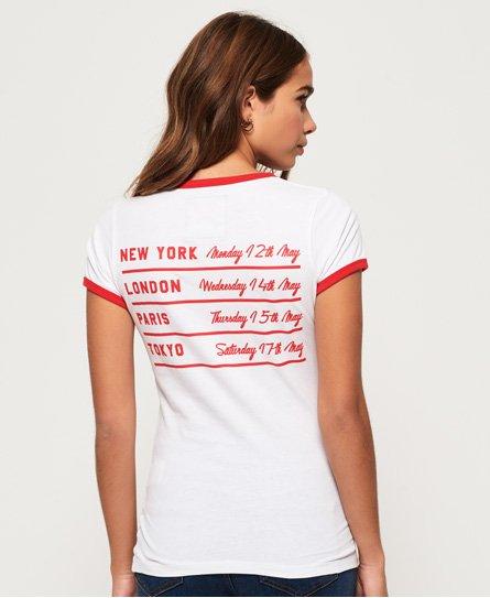 Superdry T-shirt Vintage Tour Shirt Shop