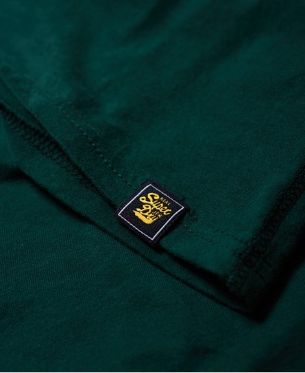 Superdry T-shirt Applique Mock con logo Vintage