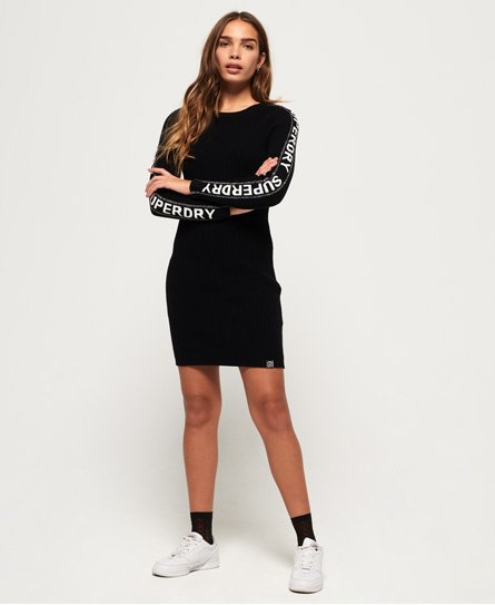 Superdry Urban Street SLV Logo Dress