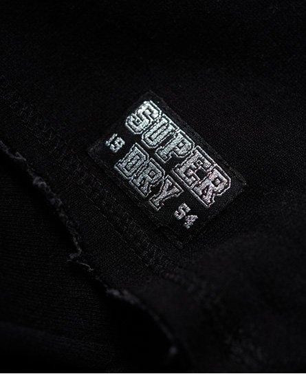 Superdry Ace Metallic Crop Hoodie