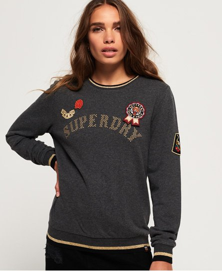 Superdry Rose Army Crew Neck Sweatshirt