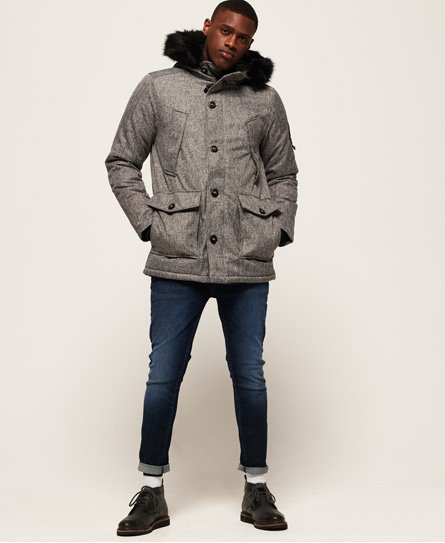 Superdry Everest Tweed Parka Jacket