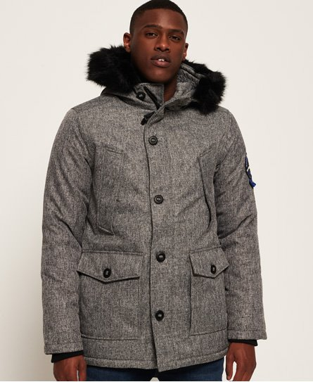 Everest Tweed Parka Jacket