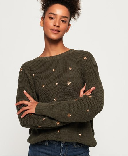 Superdry Star Cascade Jumper