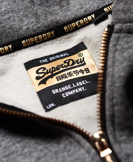 Superdry Orange Label Elite Zip Hoodie