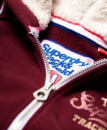 Superdry Track & Field Borg Zip Hoodie