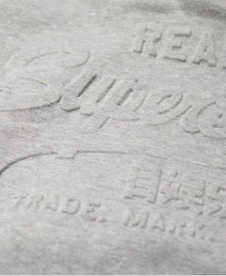 Superdry Sudadera con capucha y cinta con logo en relieve Vintage