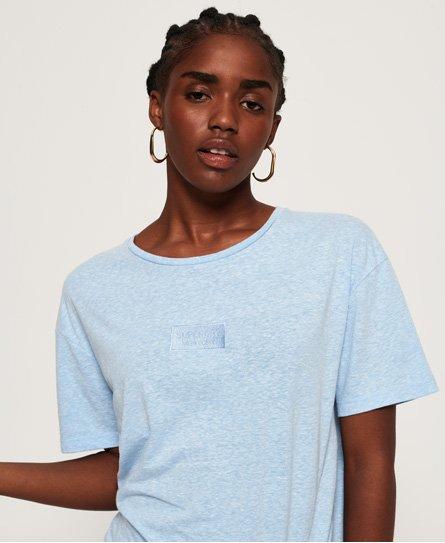 Superdry T-shirt con nodo Alta