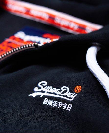Superdry Gilet à capuche zippé Orange Label