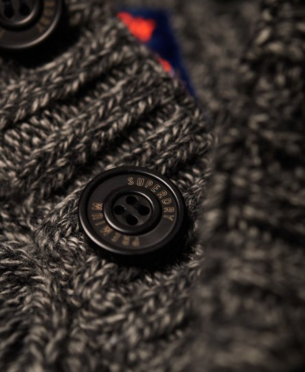 Superdry Pull henley Montana Cable