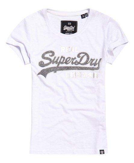 Superdry T-shirt Vintage Logo Sparkle