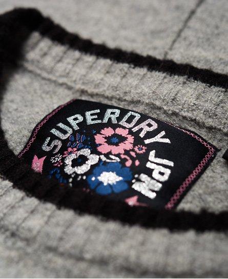 Superdry Strikket Scandi-genserkjole