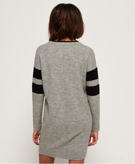 Superdry Vestido en tejido sudadera Scandi Knit