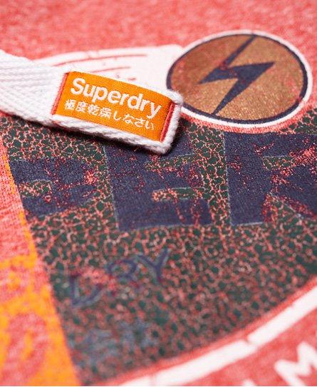 Superdry Gasoline Hoodie mit Schlitz