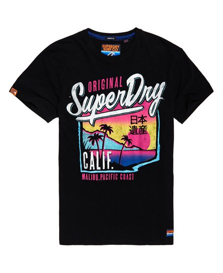 Superdry T-shirt ample Acid Pacifica