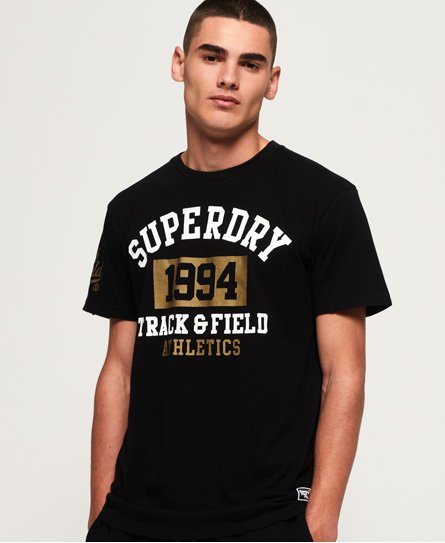 Superdry T-shirt ajusté 1994 Metallic Box
