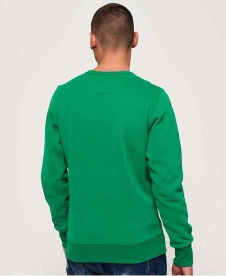Superdry Vintage Logo Panel Stripe Sweatshirt