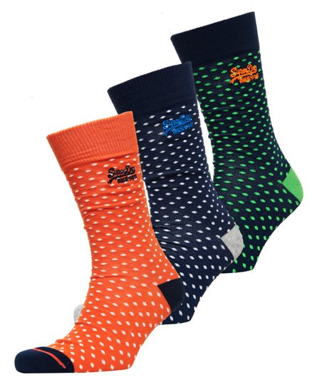 Superdry City Sock Triple Pack Boxed