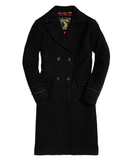 Superdry New Army Longline Wool Coat