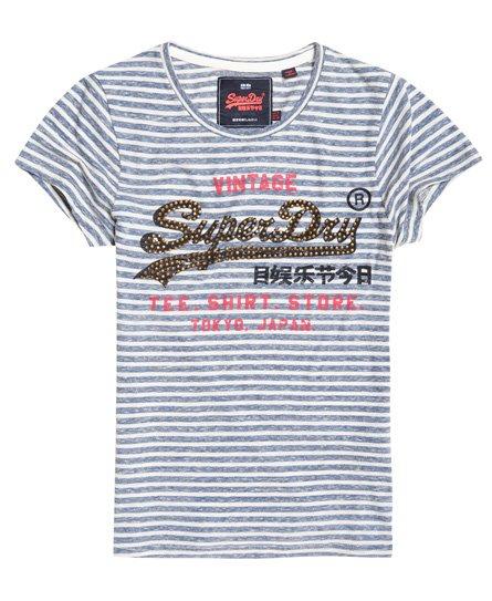 Superdry Shirt Shop T-Shirt mit Streifen