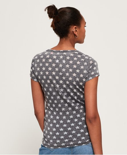 Superdry T-shirt Burn Out Star
