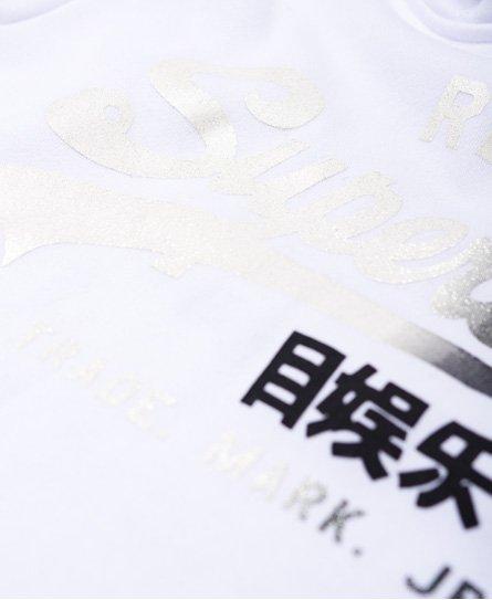Superdry Verblasstes Vintage Logo Hoodie