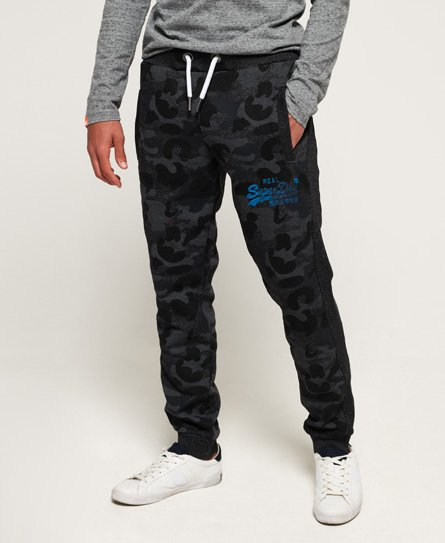 Superdry Vintage Logo Camo Panel Joggers