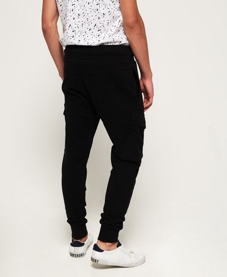 Mens - Rookie Cargo Pocket Joggers In Black