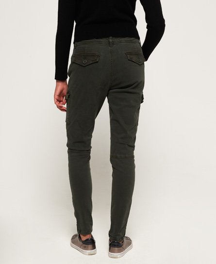 Superdry Jeans skinny cargo con borchie
