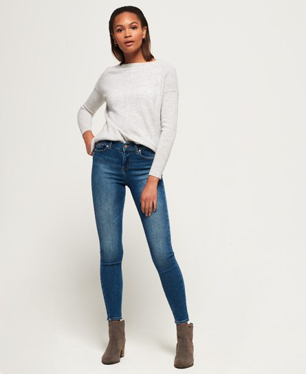 Jean skinny taille normale Super Vintage