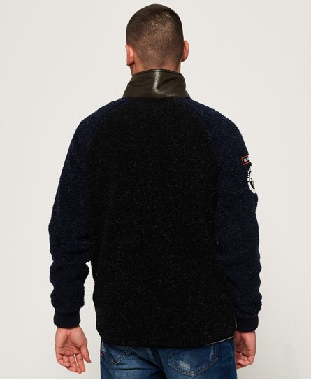 Superdry Mountain Sherpa Block Track Top