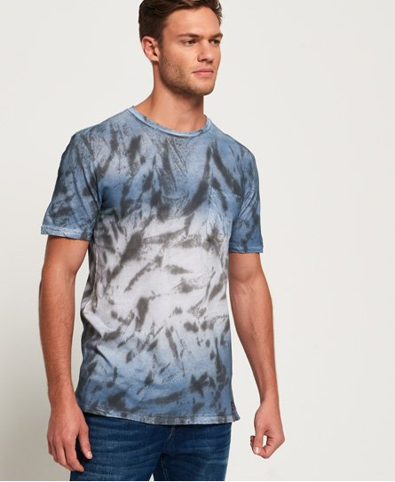 Superdry T-shirt délavé long Hoxton