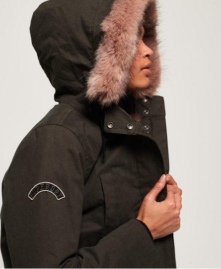 Superdry Frankie Faux Fur Lined Parka Jacket