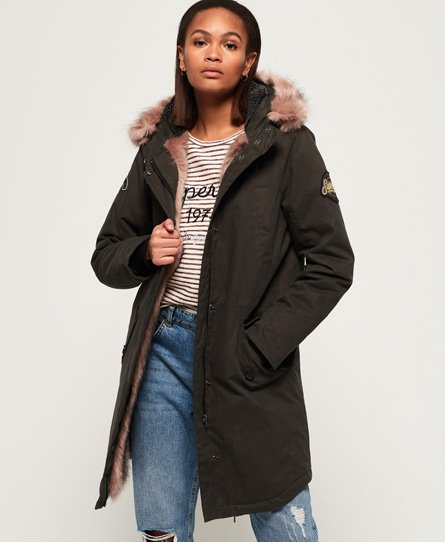 Frankie Faux Fur Lined Parka Jacket