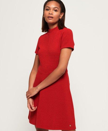 Superdry Nanette Textured jurk