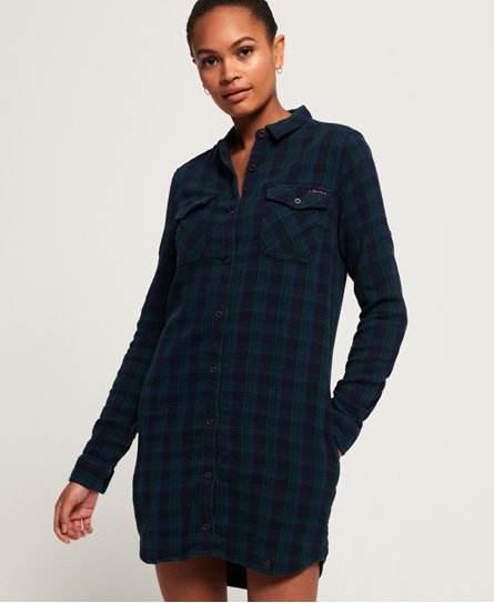 Superdry Robe chemise à carreaux Willow