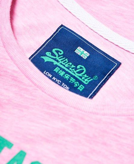 Superdry Shirt Shop T-Shirt im College-Stil
