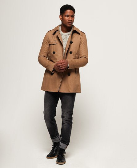 Superdry Remastered Rogue Trench Coat